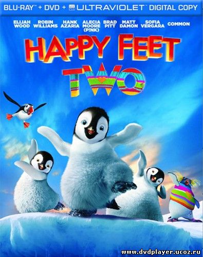Смотреть онлайн Делай ноги 2 / Happy Feet Two (2011) HDRip | Лицензия