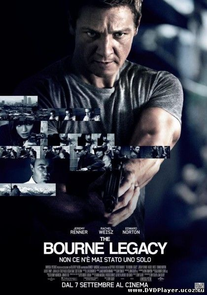Смотреть онлайн Эволюция Борна / The Bourne Legacy (2012) HDRip | Лицензия