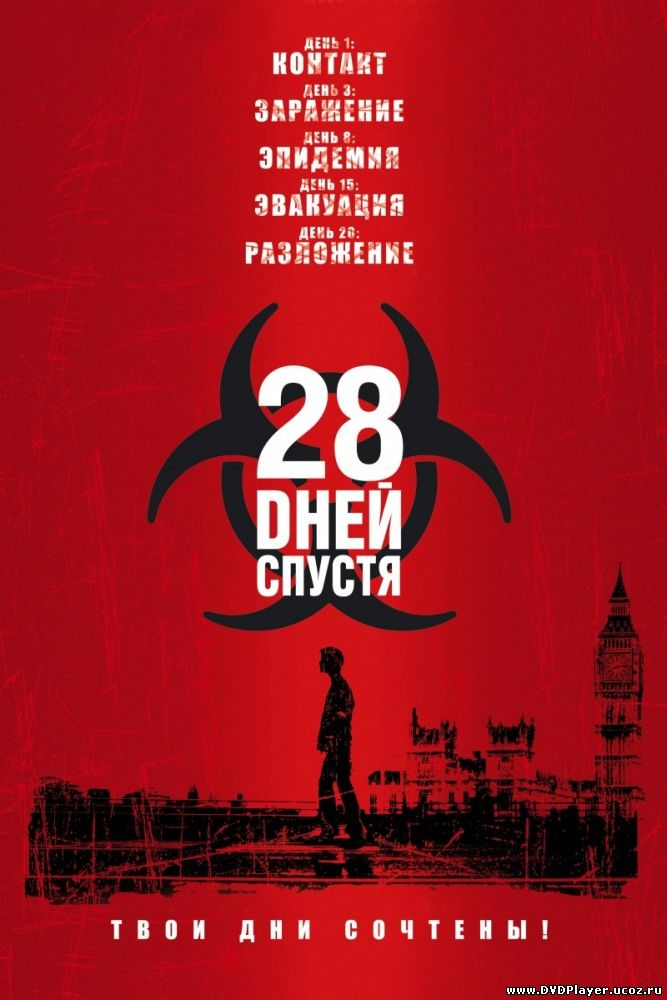 28 Дней Спустя / 28 Days Later (2002) DVDRip Смотреть онлайн