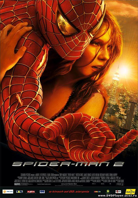 Человек-паук 2 / Spider-Man 2 (2004) BDRip Смотреть онлайн