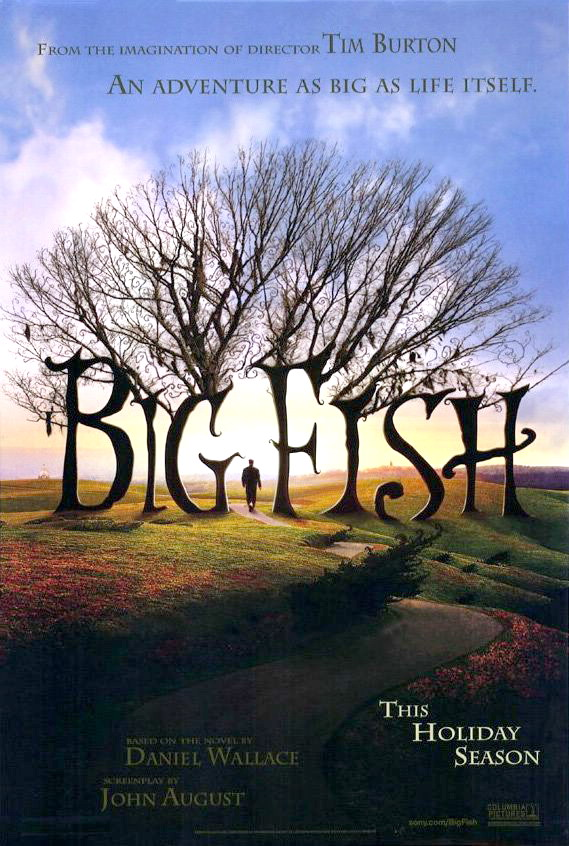Смотреть онлайн Крупная рыба / Big Fish (2003) HDRip